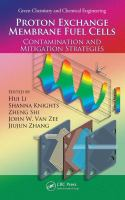 Cover image for Proton exchange membrane fuel cells : contamination and mitigation strategies