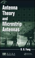 Cover image for Antenna theory and microstrip antennas