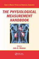Cover image for The Physiological Measurement Handbook