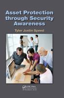 Cover image for Asset protection through security awareness