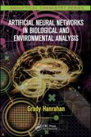 Cover image for Artificial neural networks in biological and environmental analysis