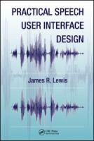Cover image for Practical speech user interface design