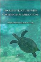 Cover image for Discrete structures with contemporary applications