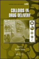 Cover image for Colloids in drug delivery