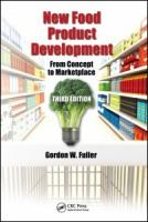 Cover image for New food product development : from concept to marketplace