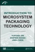 Cover image for Introduction to microsystem packaging technology