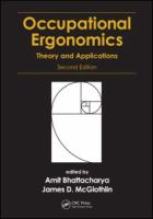 Cover image for Occupational ergonomics : theory and applications