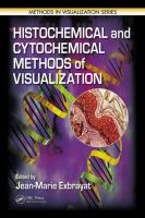 Cover image for Histochemical and cytochemical methods of visualization
