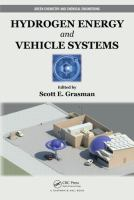 Cover image for Hydrogen energy and vehicle systems