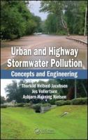 Cover image for Urban and highway stormwater pollution : concepts and engineering