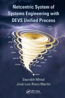 Cover image for Netcentric system of systems engineering with DEVS unified process