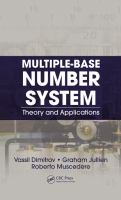 Cover image for Multiple-base number system : theory and applications
