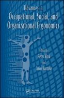 Cover image for Advances in occupational, social, and organizational ergonomics