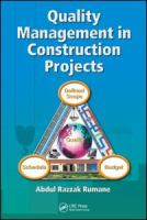 Cover image for Quality management in construction projects
