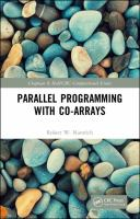 Cover image for Parallel programming with co-arrays