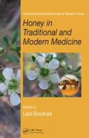 Cover image for Honey in traditional and modern medicine