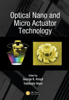 Cover image for Optical nano and micro actuator technology