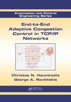Cover image for End-to-end adaptive congestion control in TCP/IP networks