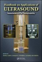 Cover image for Handbook on applications of ultrasound : sonochemistry for sustainability