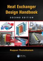 Cover image for Heat exchanger design handbook