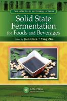 Cover image for Solid state fermentation for foods and beverages
