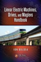 Cover image for Linear electric machines, drives, and MAGLEVs handbook