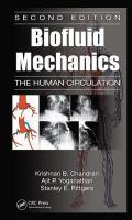 Cover image for Biofluid mechanics : the human circulation