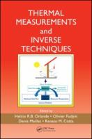Cover image for Thermal measurements and inverse techniques