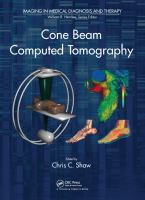 Cover image for Cone beam computed tomography