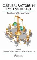 Cover image for Cultural factors in systems design : decision making and action