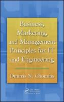 Cover image for Business, marketing, and management principles for IT and engineering