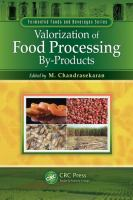Cover image for Valorization of food processing by-products