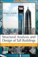 Cover image for Structural analysis and design of tall buildings : steel and composite construction
