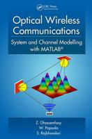 Cover image for Optical wireless communications : system and channel modelling with MATLAB