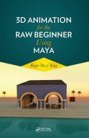 Cover image for 3D animation for the raw beginner using Maya