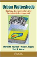 Cover image for Urban watersheds : geology, contamination, and sustainable development