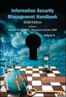 Cover image for Information security management handbook. Volume 5