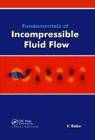 Cover image for Fundamentals of incompressible fluid flow