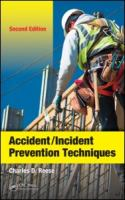 Cover image for Accident/incident prevention techniques