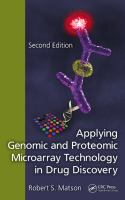 Cover image for Applying genomic and proteomic microarray technology in drug discovery