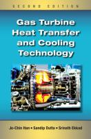 Cover image for Gas turbine heat transfer and cooling technology