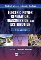 Cover image for Electric power generation, transmission, and distribution