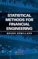 Cover image for Statistical methods for financial engineering