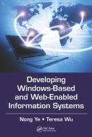 Cover image for Developing windows-based and web-enabled information systems