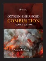 Cover image for Oxygen-enhanced combustion