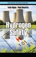 Cover image for Hydrogen safety