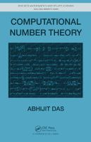 Cover image for Computational number theory