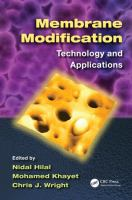 Cover image for Membrane modification : technology and applications