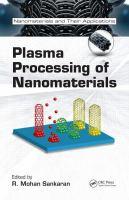Cover image for Plasma processing of nanomaterials
