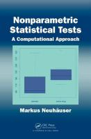 Cover image for Nonparametric statistical tests : a computational approach